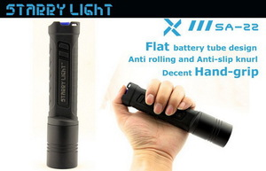 Starrylight SA22 4xAA CREE XML2 U2 Flashlight